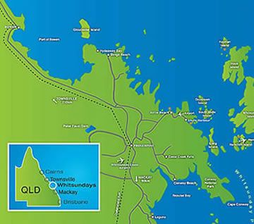 Whitsunday Map